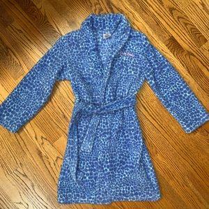 Calvin Klein blue bathrobe